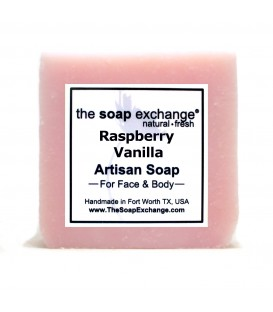 Raspberry Vanilla Bar Soap