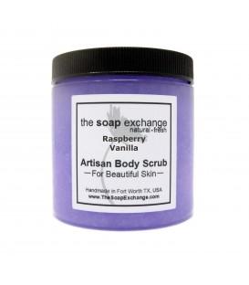Raspberry Vanilla Body Scrub