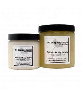 Body Butter & Body Scrub Gift Set 2 Pc