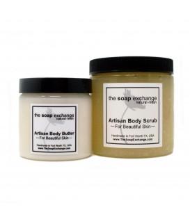 Body Butter & Body Scrub Gift Set 2 Pc