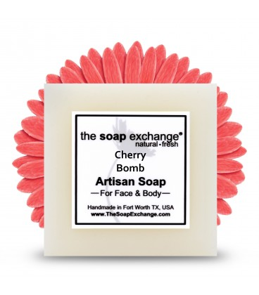 Cherry Bomb Bar Soap