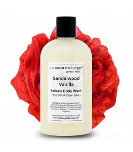 Sandalwood Vanilla Body Wash