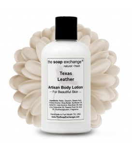 Texas Leather Body Lotion